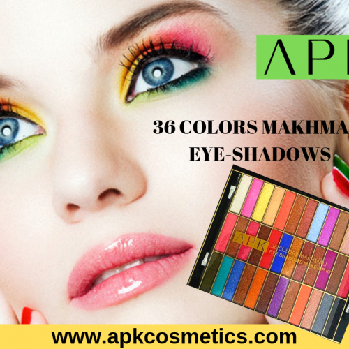 APK 36 COLORS MAKHMALI EYE SHADOWS
