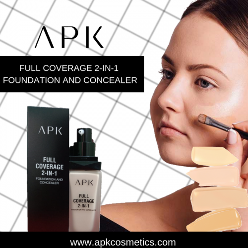 APK Full Coverage 2in1 Foundation Concealer