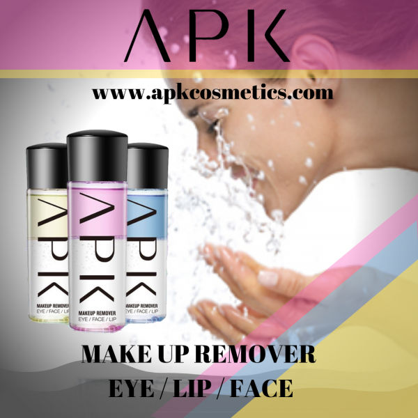 APK MAKEUP REMOVER FOR LIP EYE FACE