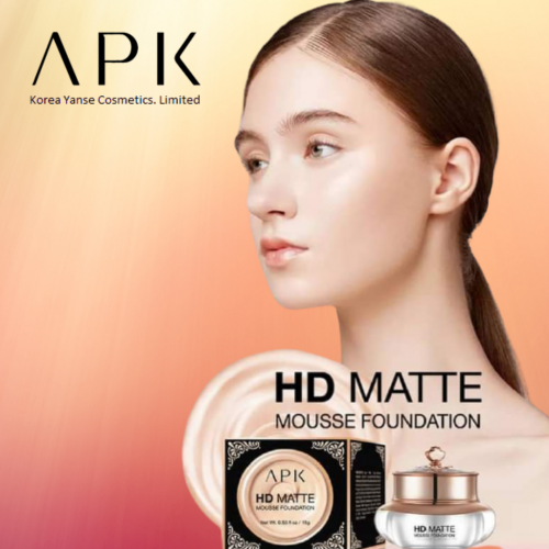 APK HD MATTE MOUSSE FOUNDATION