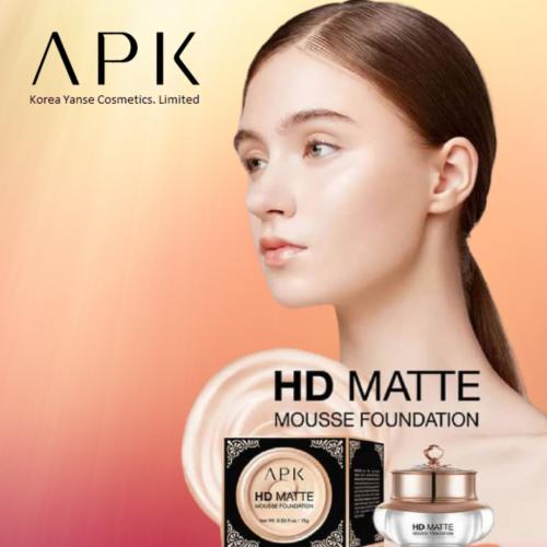 APK HD MATTE MOUSSE FOUNDATION