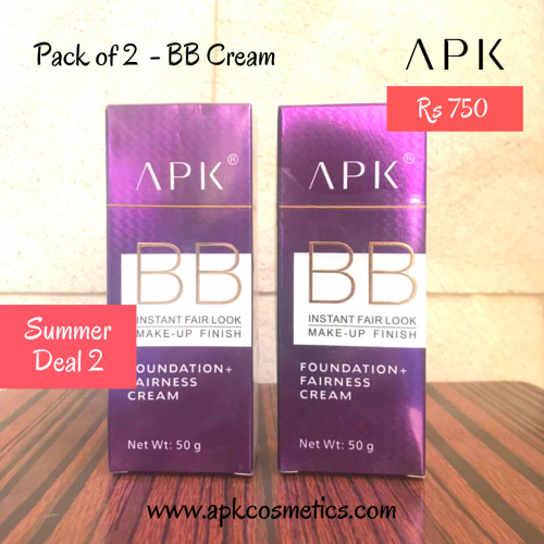 Summer Deal 2 - Pack of 2 BB Cream
